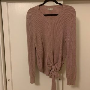 Madewell Knotted Bow Sweater
